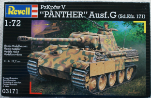 Revell 1/72 03171 Panther Ausf G
